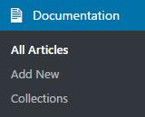 DocuPress in the WordPress admin menu